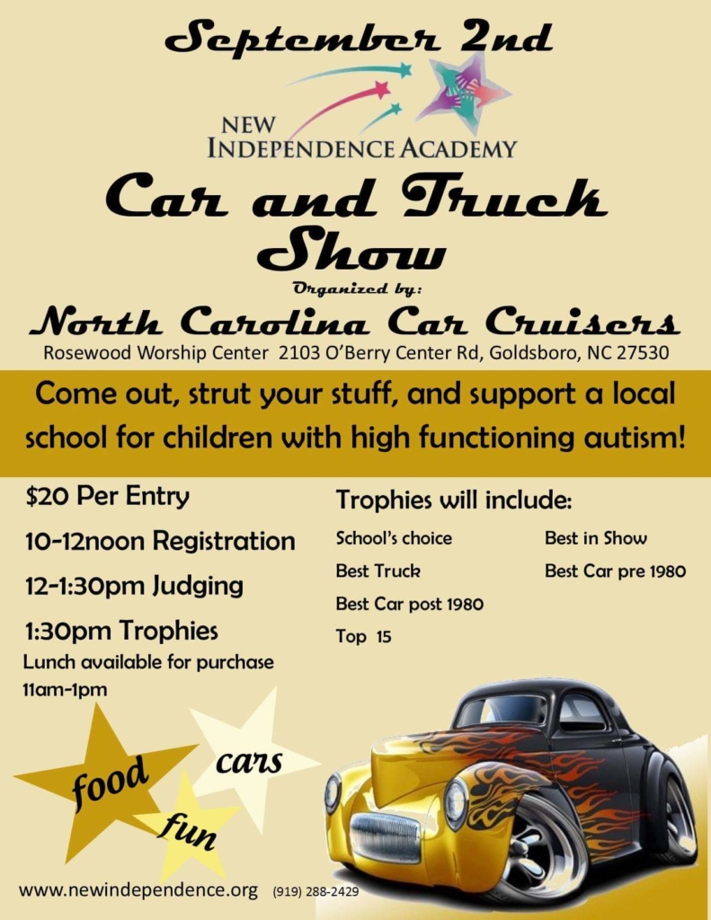 Car and Truck Show Flyer 2017